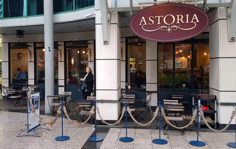 Astoria cafe exterior