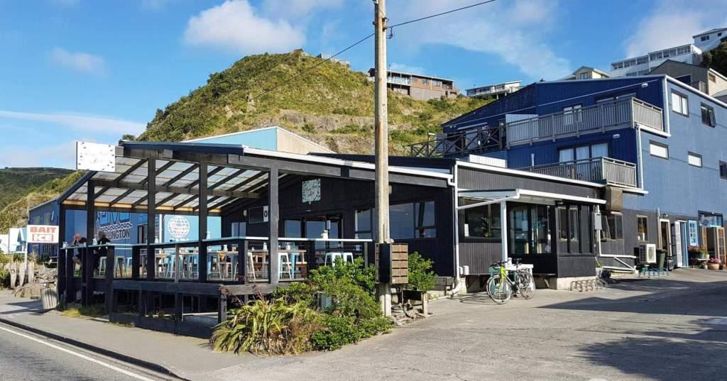 Beach House & Kiosk exterior