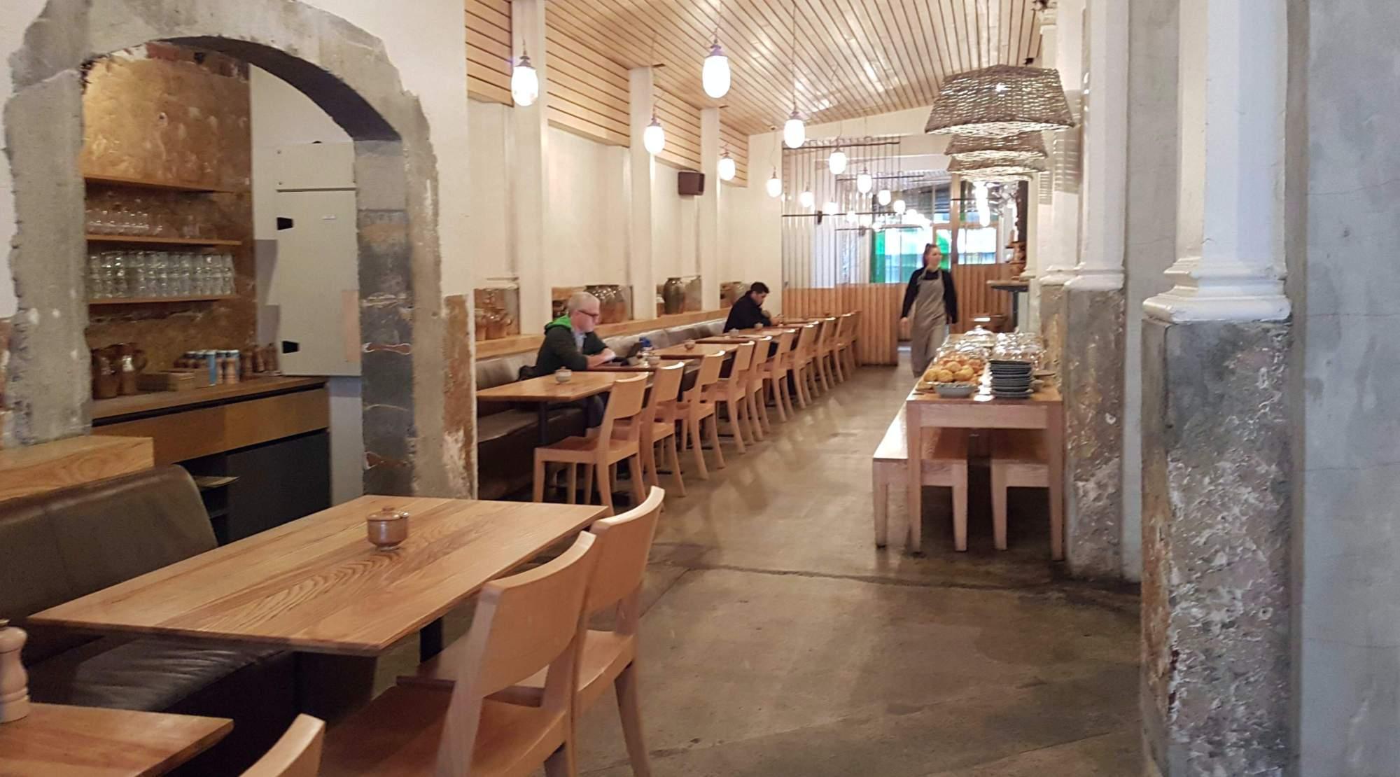 Loretta eatery interior long shot