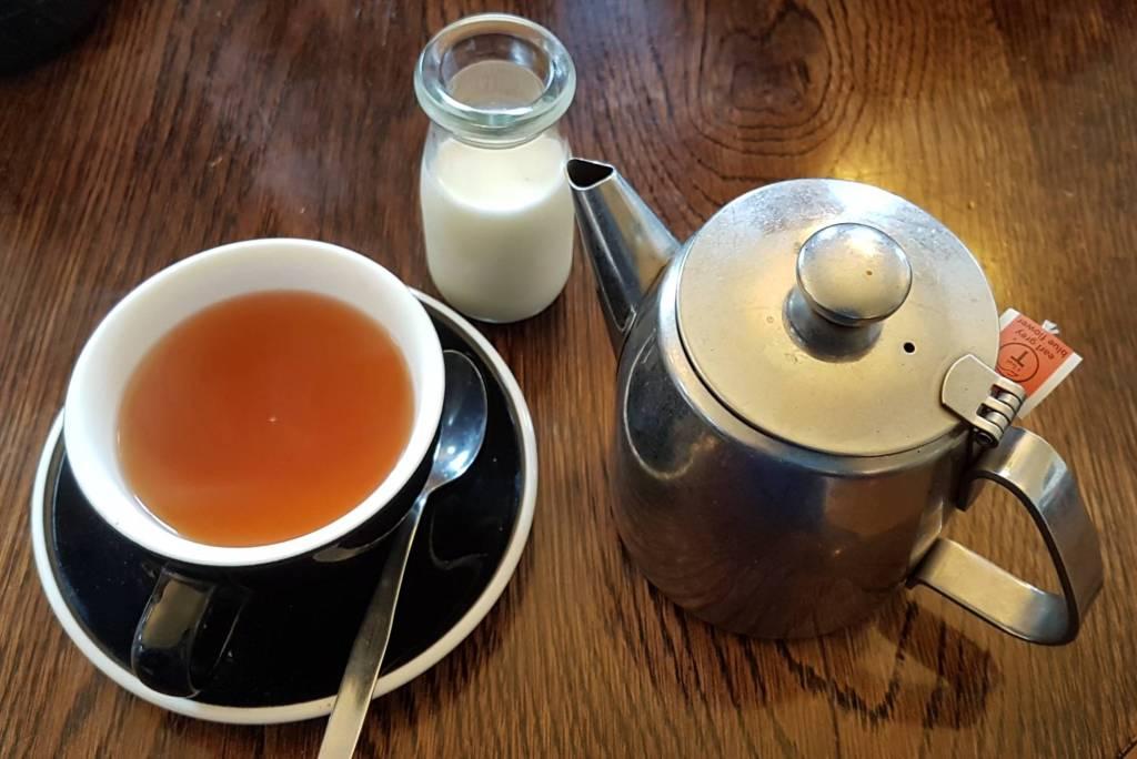 Pandoro Panettaria tea