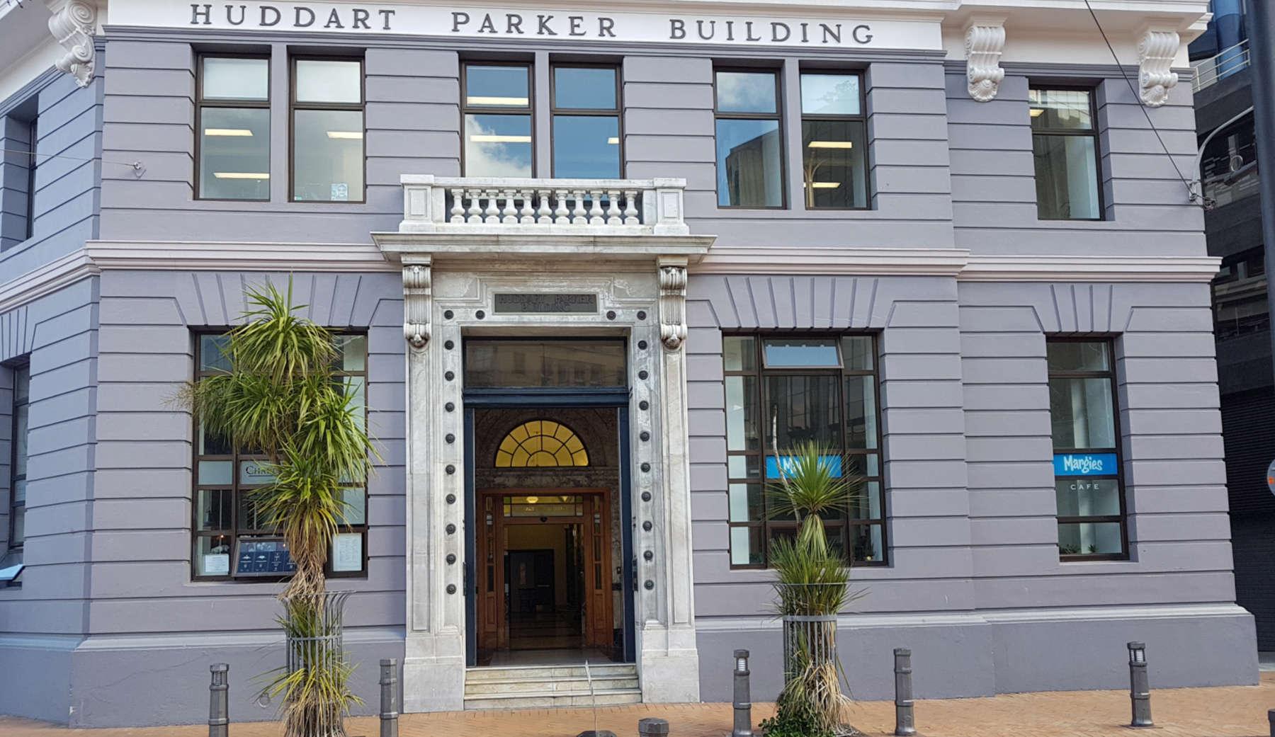 Huddart Parker building exterior