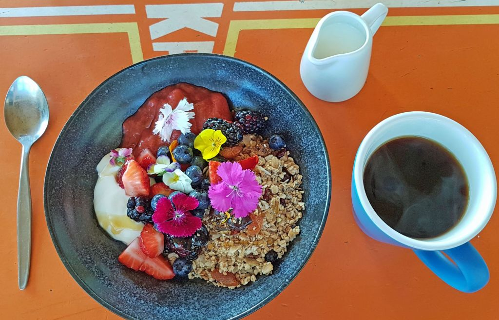 Maranui muesli & coffee