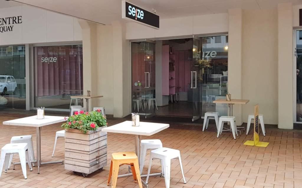 Seize eatery exterior