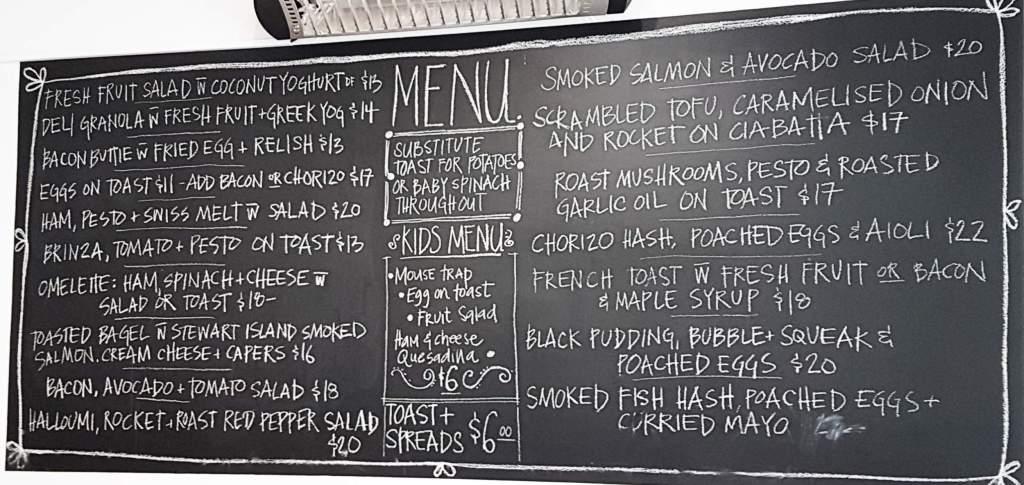 Dunsheas Deli menu