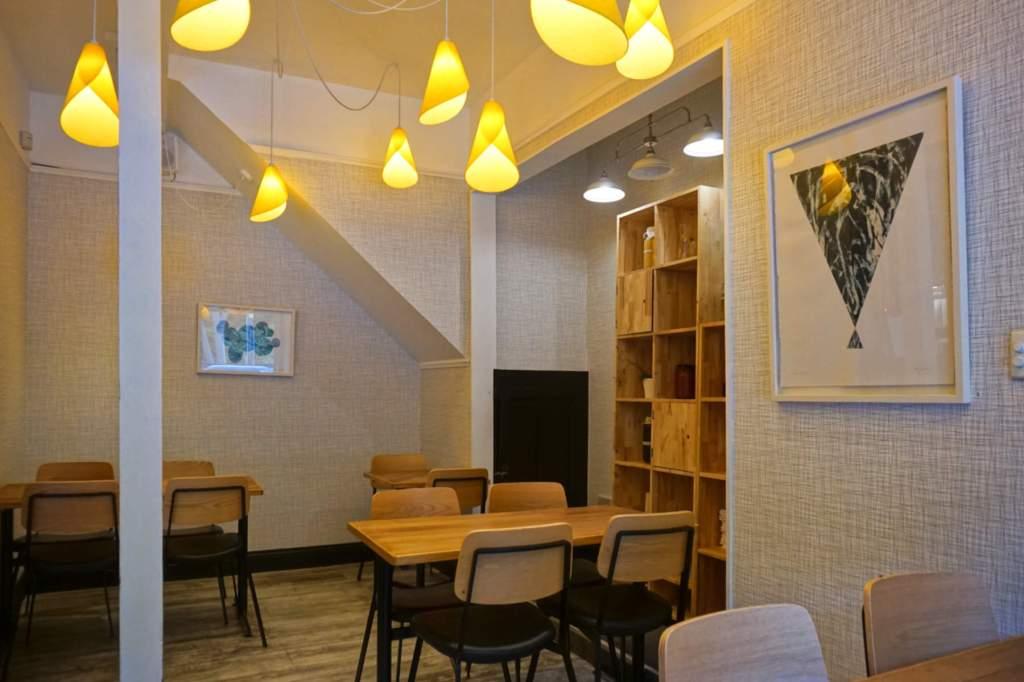 Hillside Kitchen interior to back