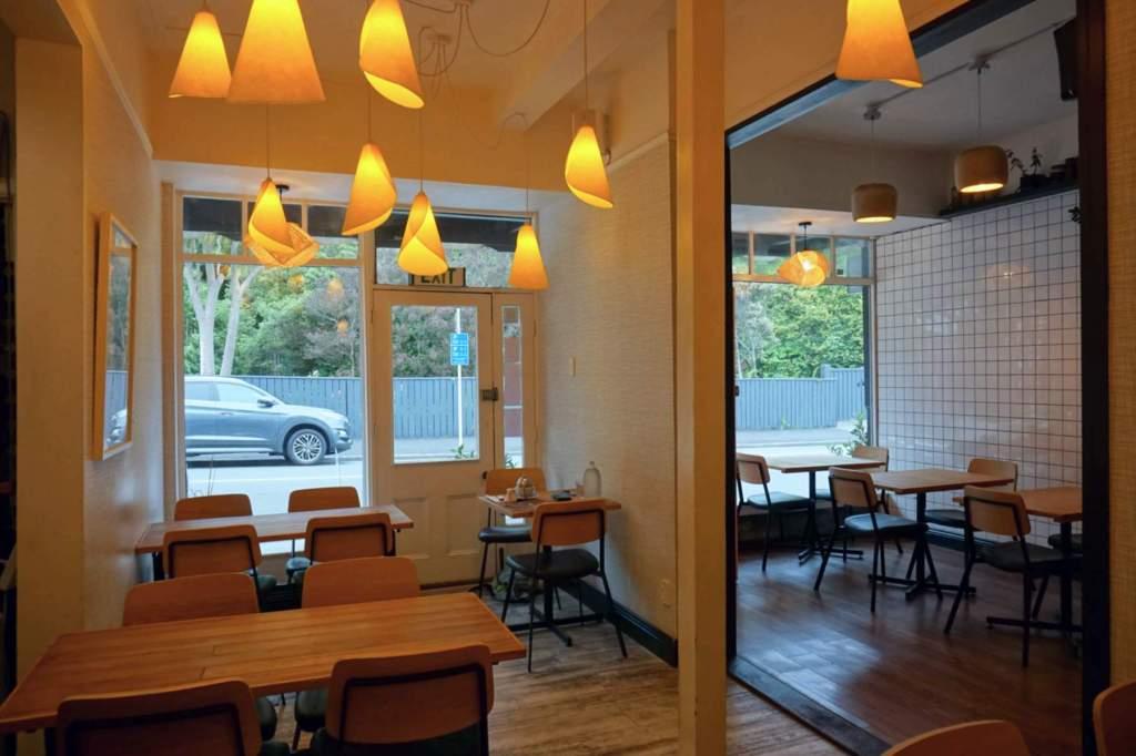 Hillside Kitchen interior to street