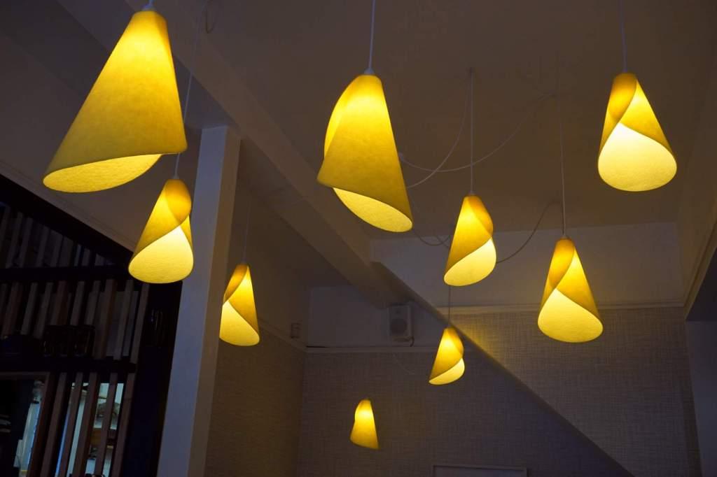 Hillside Kitchen lights