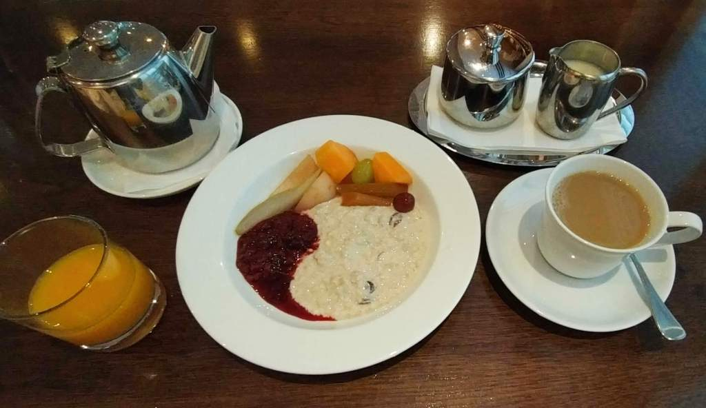 Artisan - bircher muesli and tea