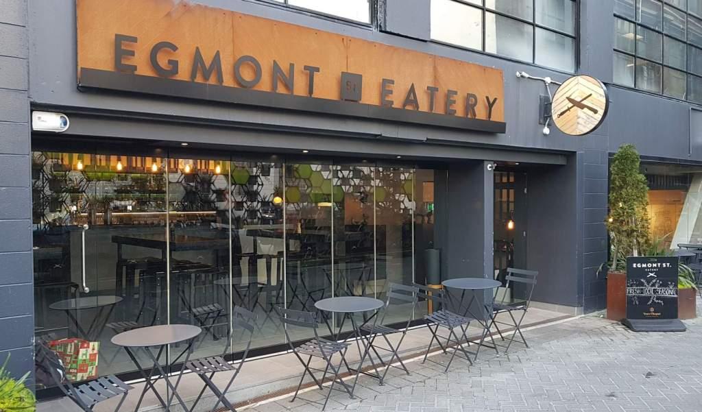 Egmont St Eatery exterior