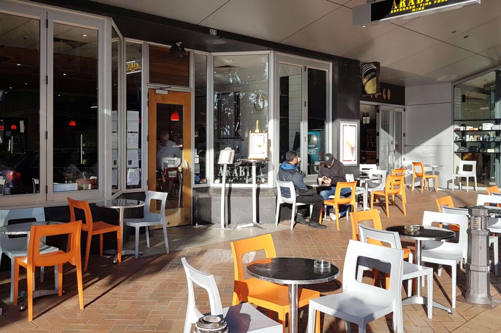 Arabica Cafe exterior view