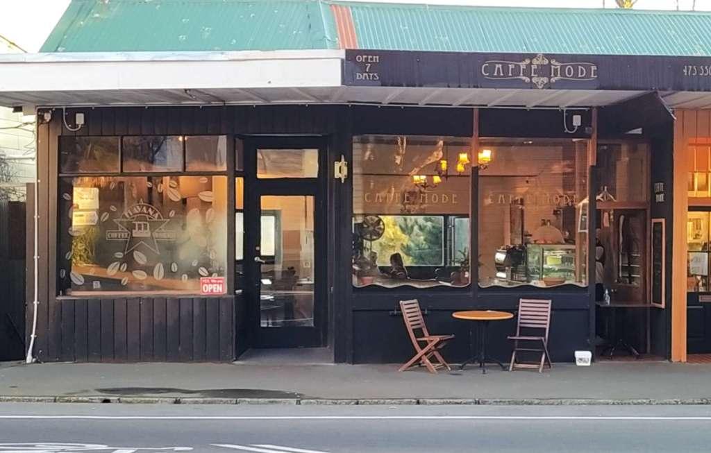 Caffe Mode exterior