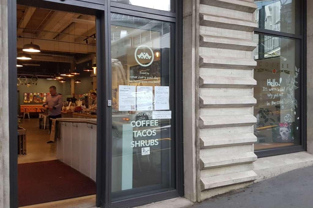 Machete Coffee - exterior view