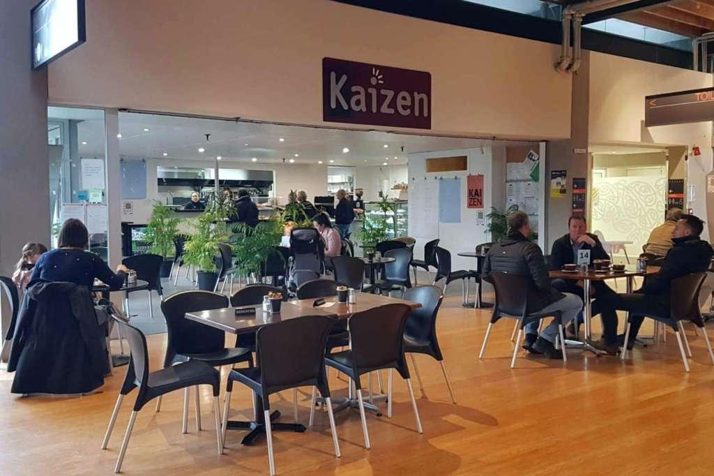 Cafe Kaizen - entrance view