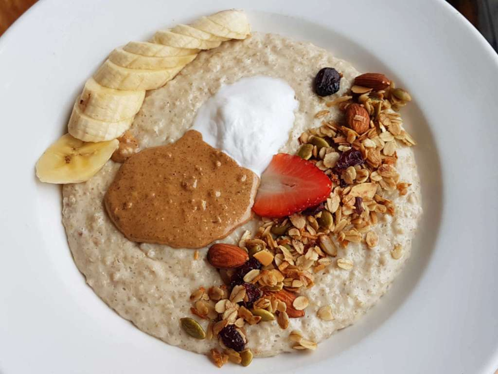 Cafe Kaizen - porridge header