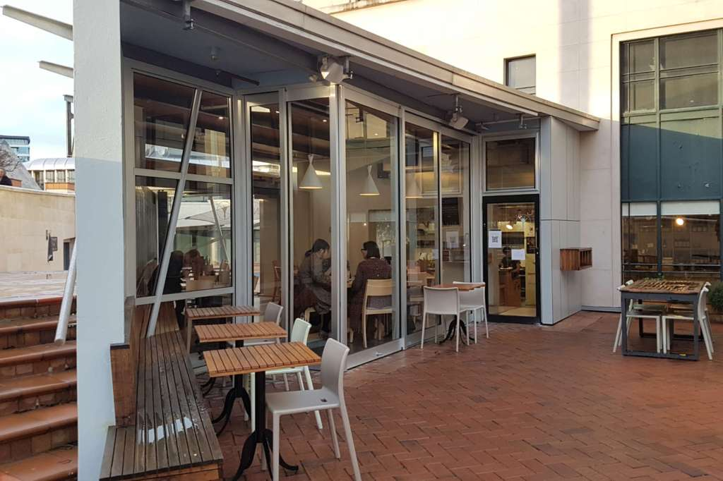 Nikau Cafe - exterior view north side