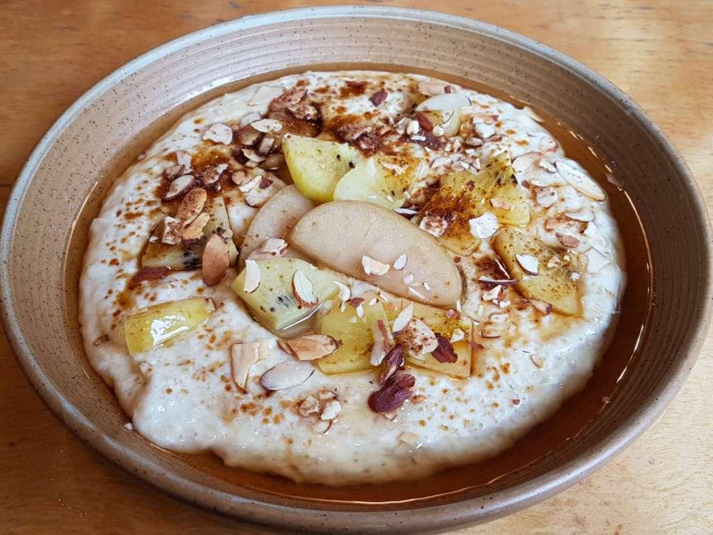 Nikau - porridge close-up