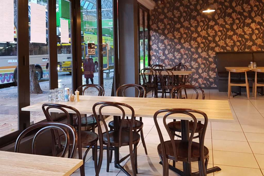 Urban on Manners - interior view at street