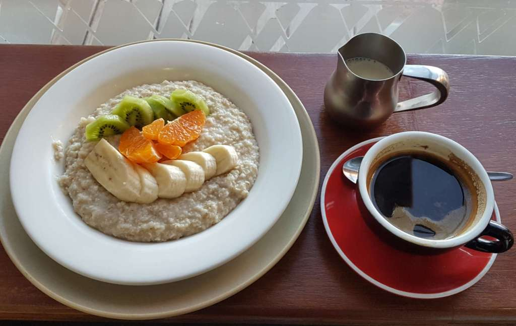 Word of Mouth - porridge and coffee