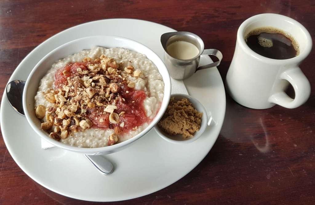 L'affare - porridge and coffee