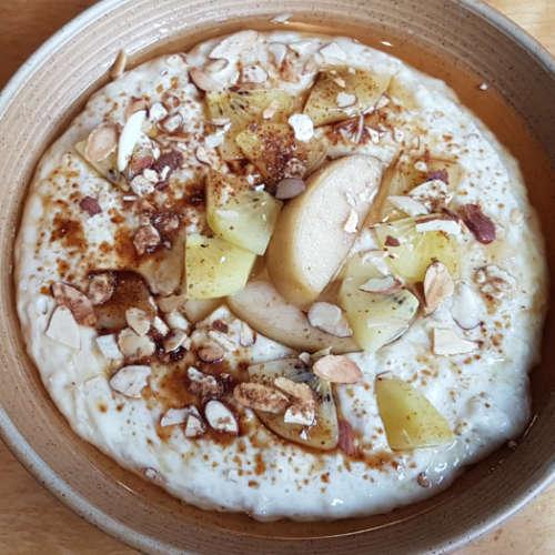 Nikau - porridge