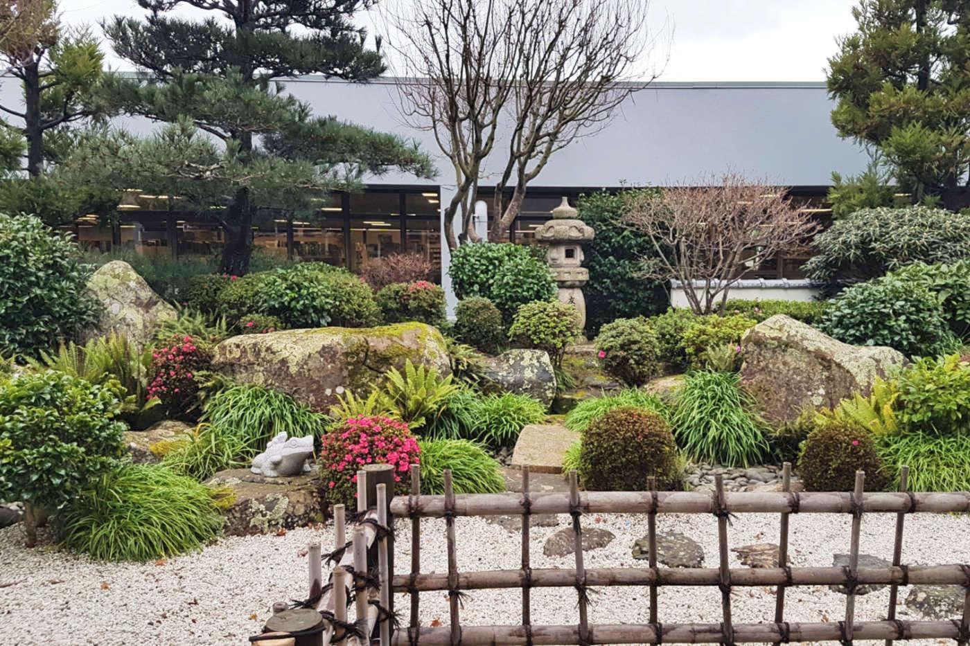 Cafe Kaizen - Zen garden