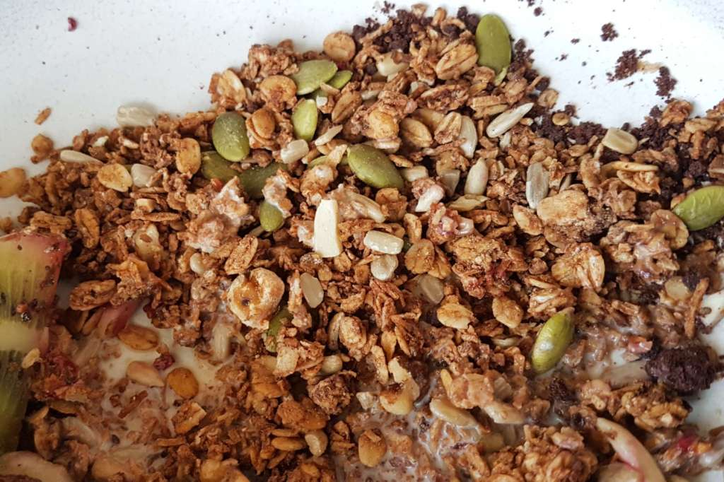 Comes and Goes - muesli close-up