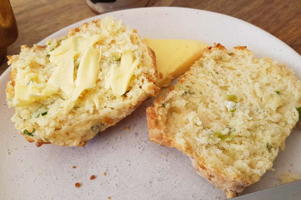 Squirrel - cheese scone