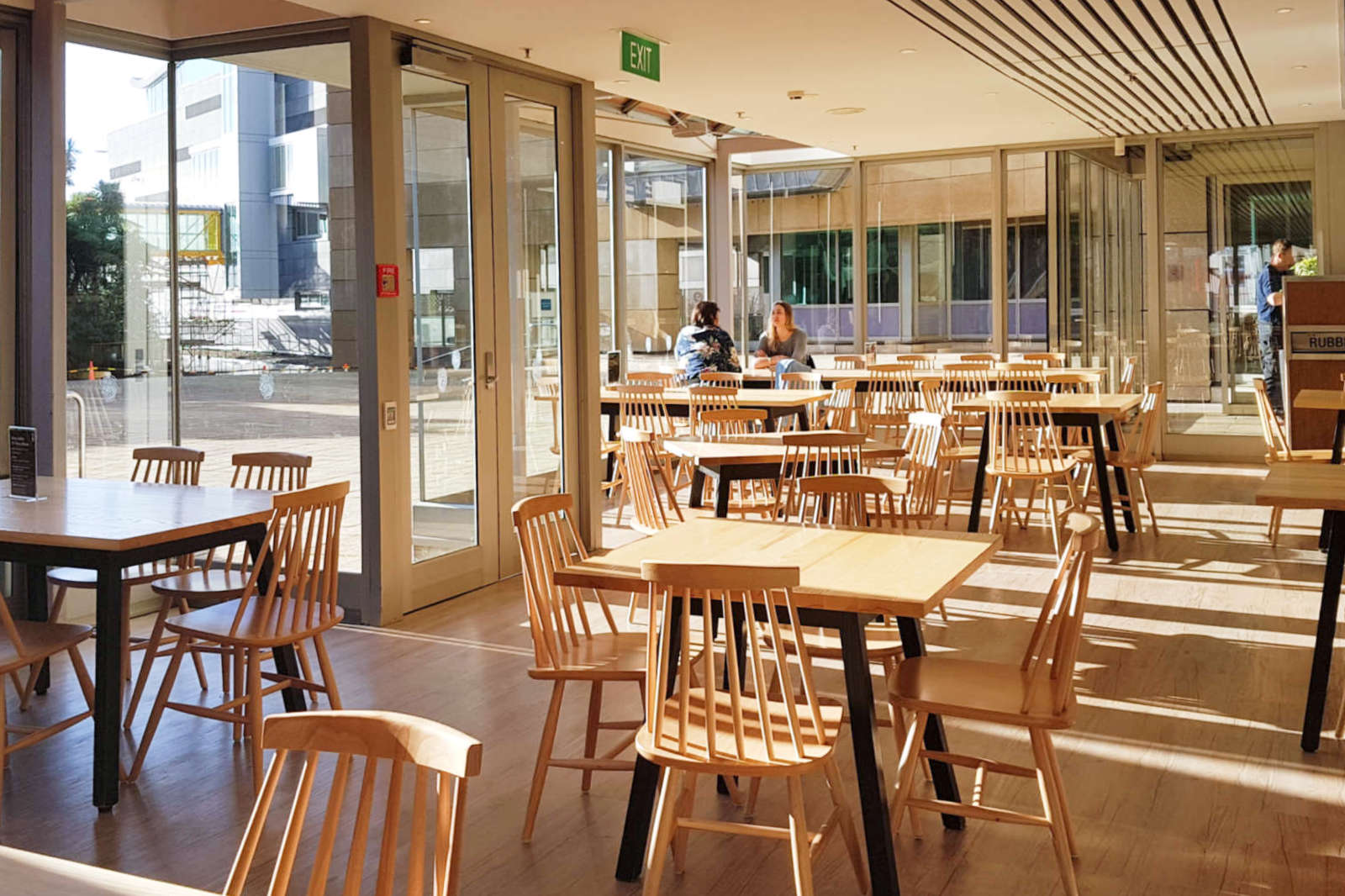 Te Papa Cafe - interior seating view east