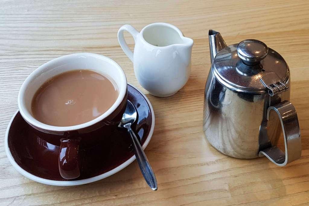 Te Papa Cafe tea