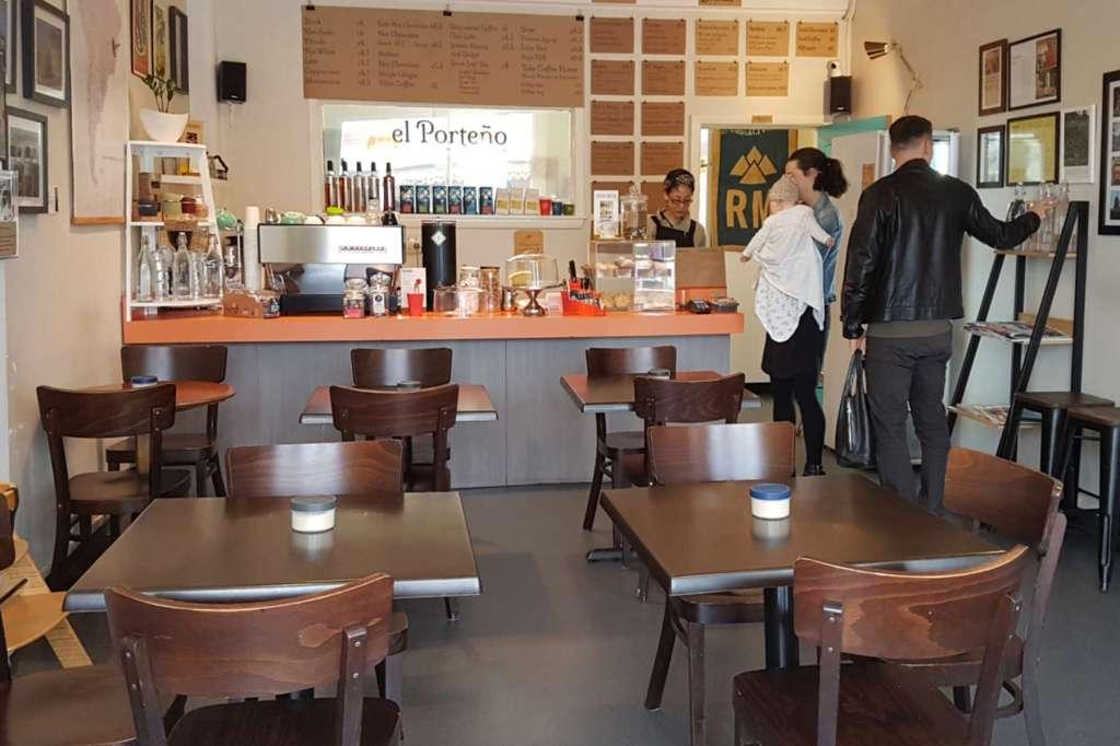 El Porteno - interior to counter