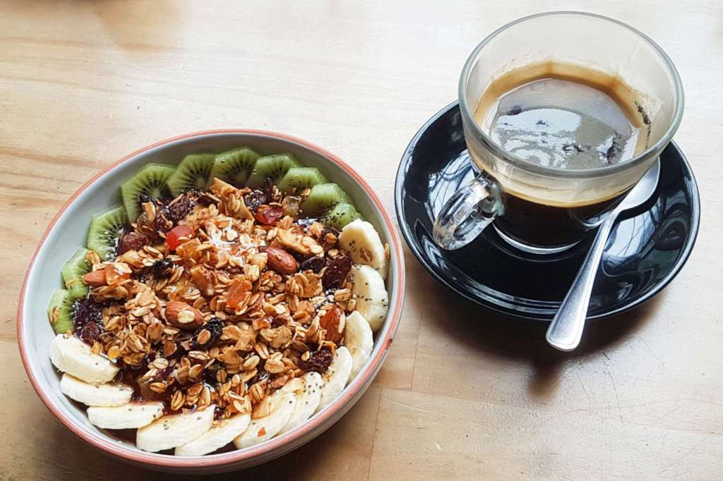 Willi's Kitchen is a small place somewhat hidden behind bus shelters on Wellington's Manners St. The acai bowl and coffee