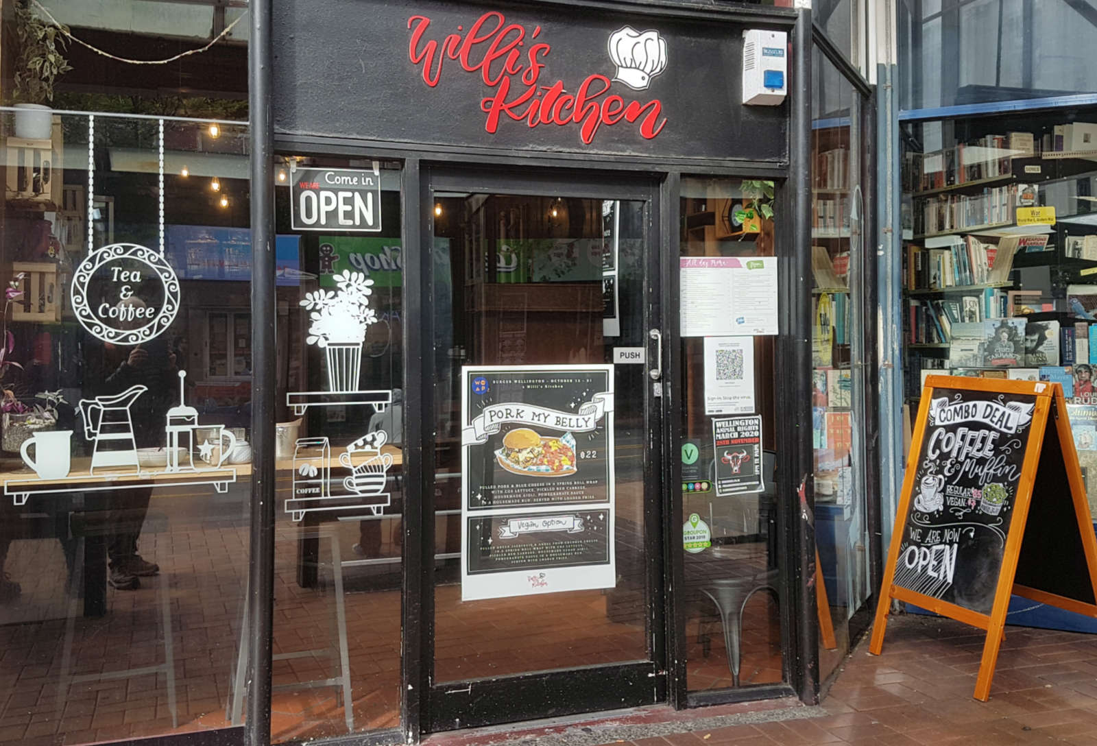 Willi's Kitchen - exterior