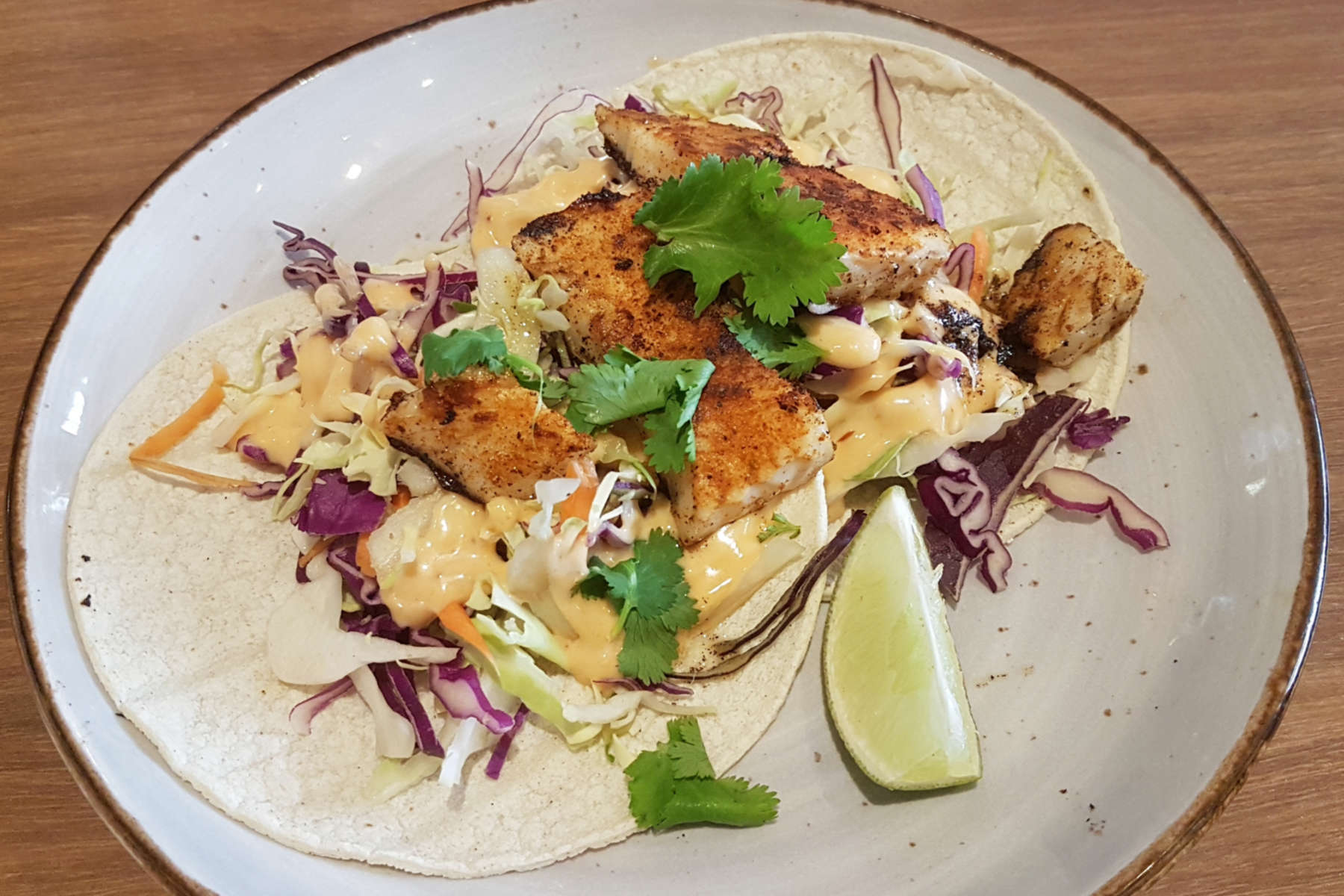 Sweet Mothers Kitchen - fish tacos