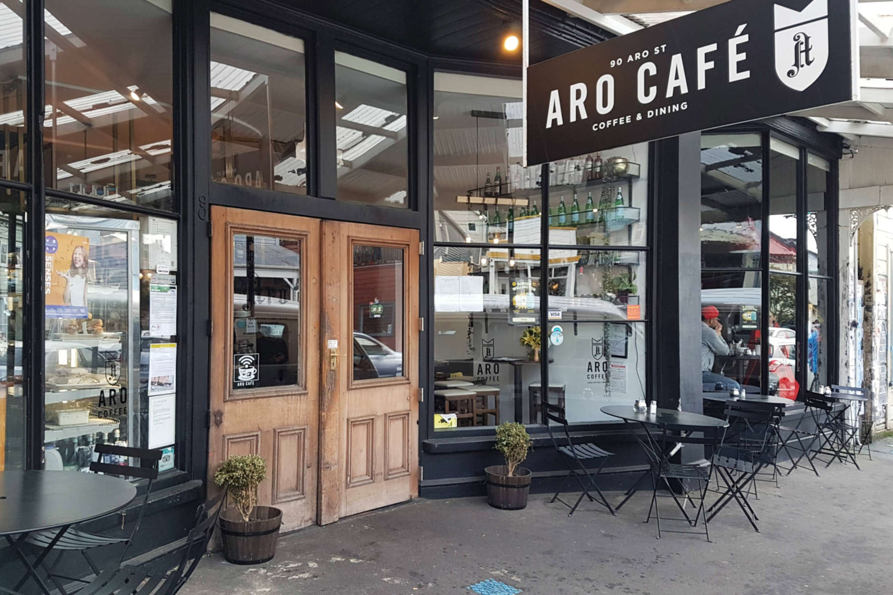 Aro St Cafe exterior