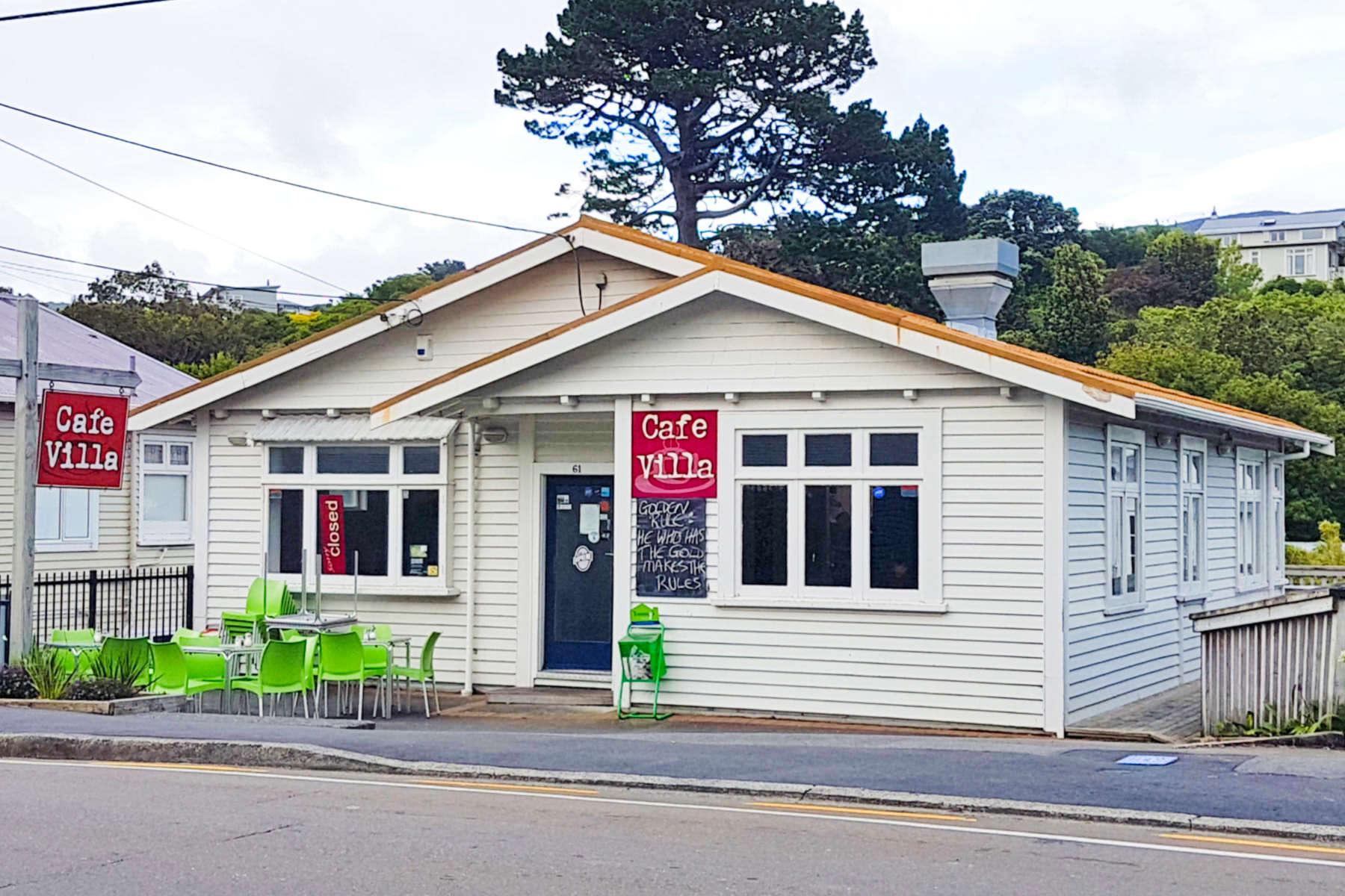 Cafe Villa - exterior