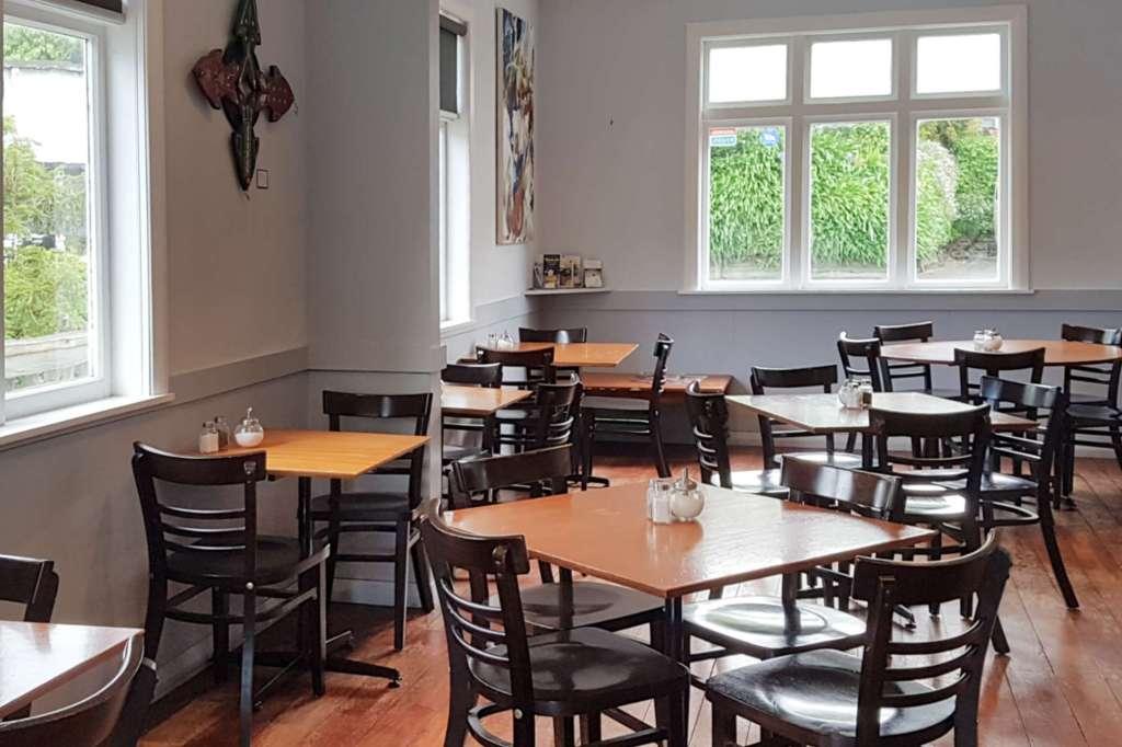Cafe Villa - interior to Ottawa Rd