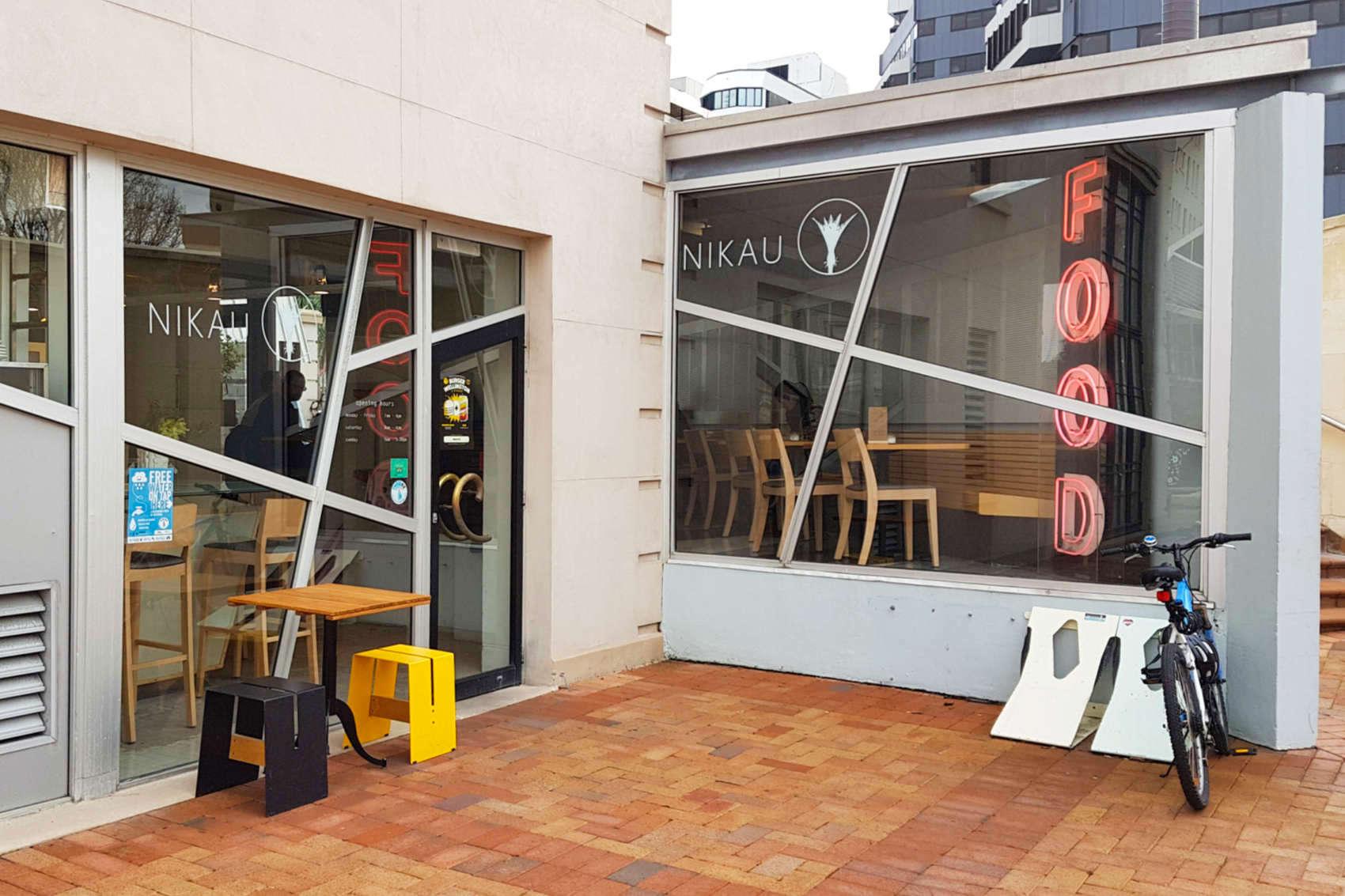 Nikau Cafe - exterior view