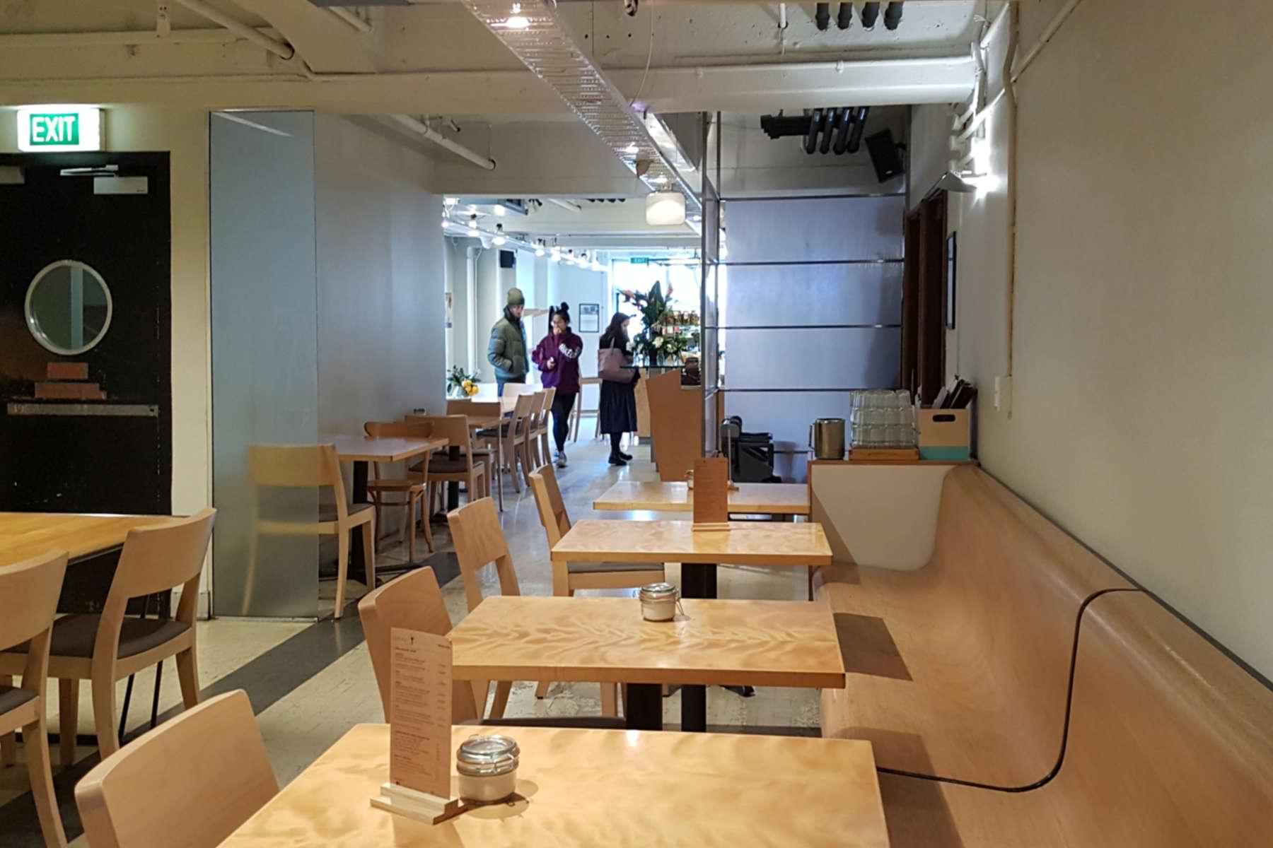 Nikau - interior view to counter