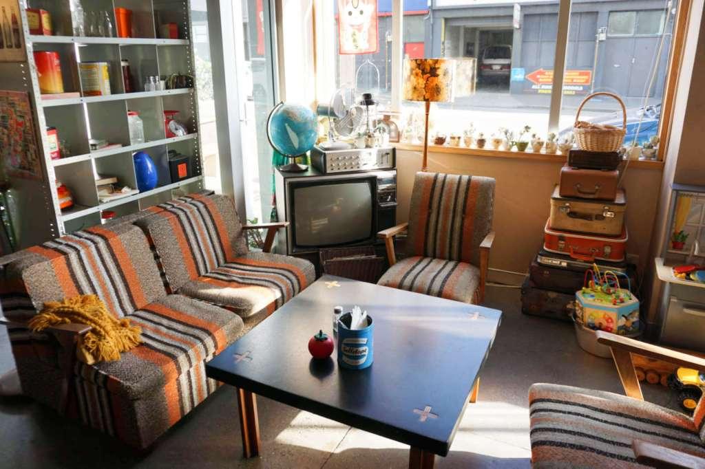 Preservatorium interior - arm chairs