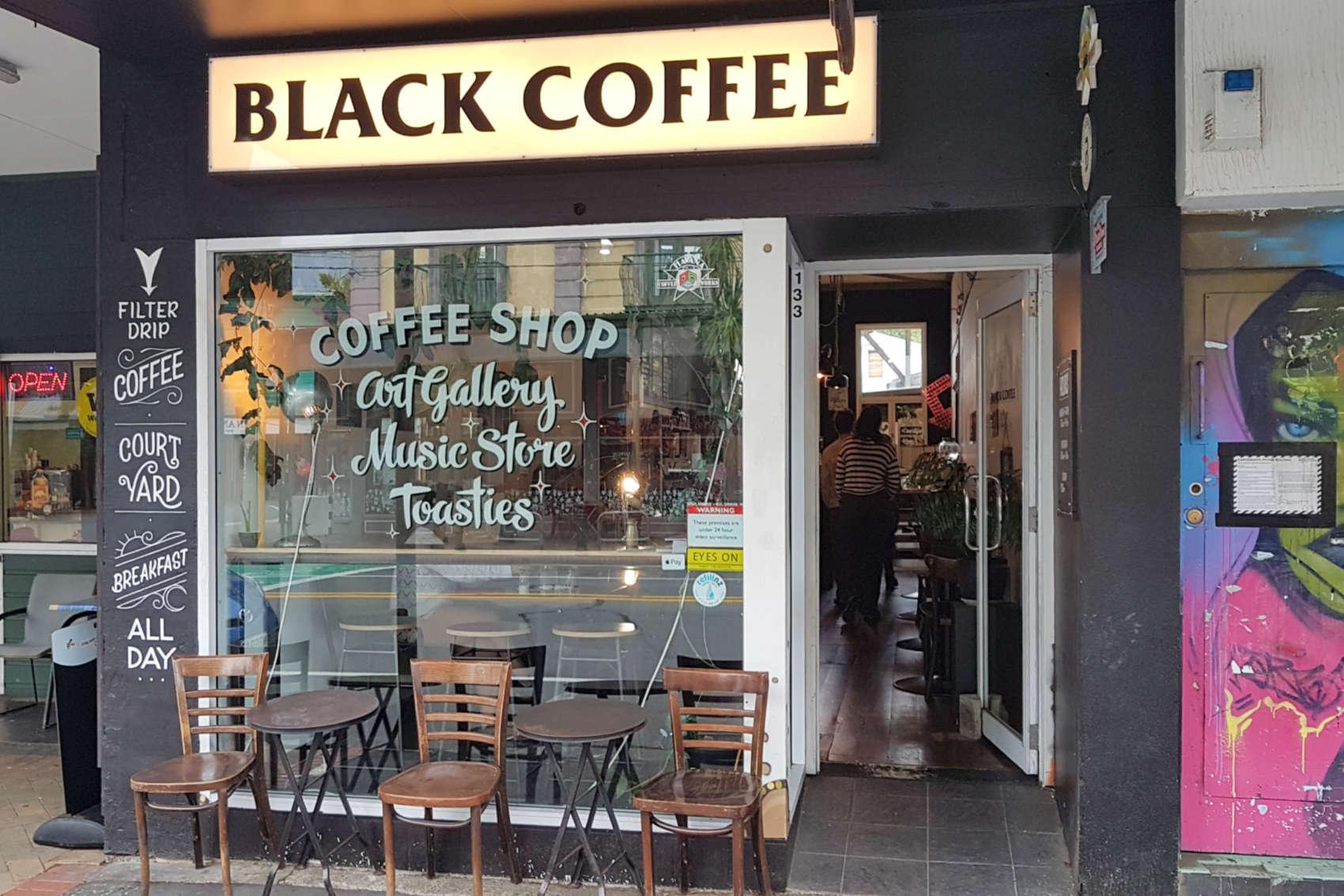 Black Coffee exterior