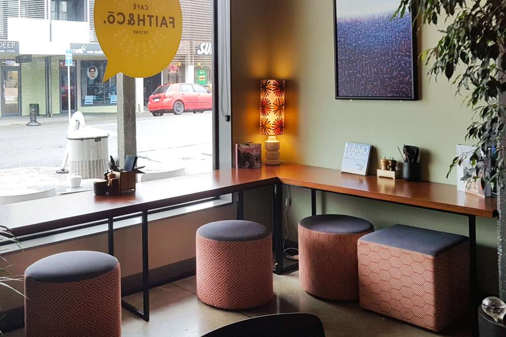FAith & Co interior - street corner
