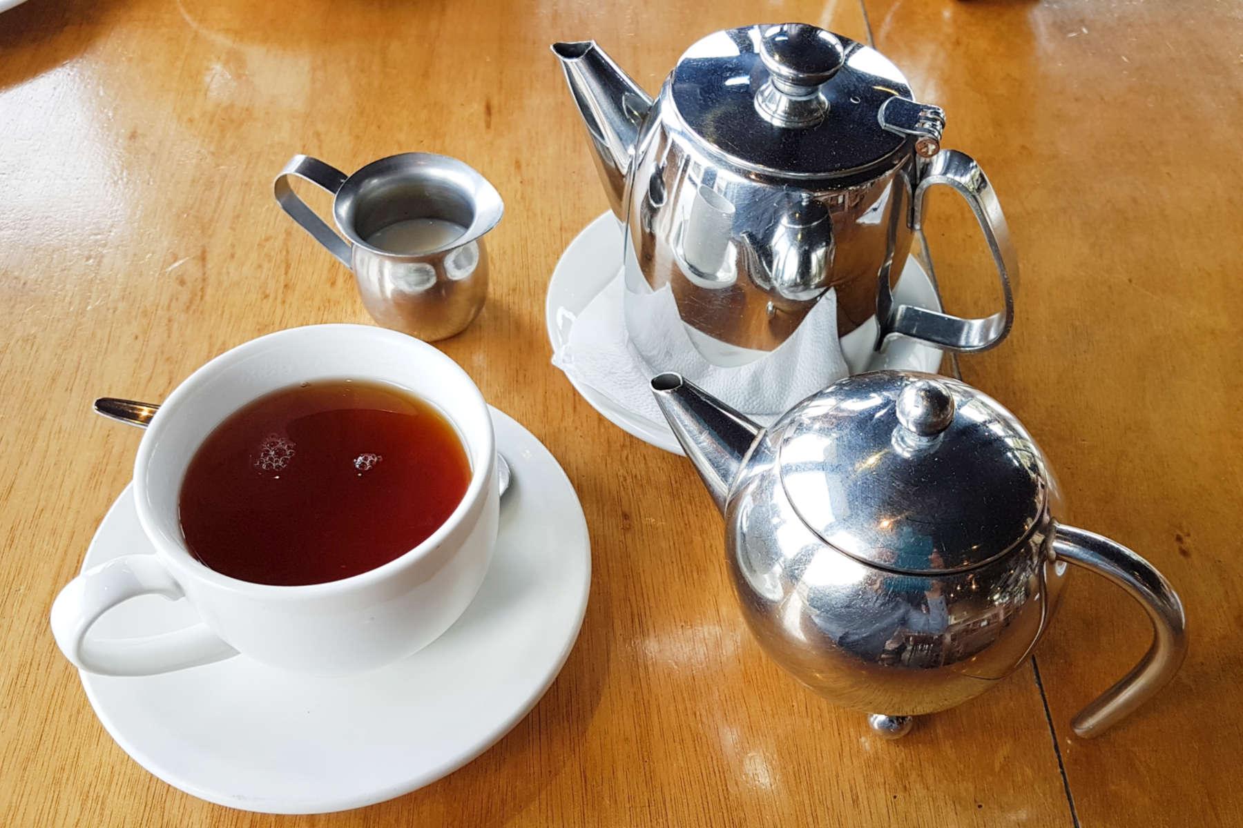 Greta Point tea