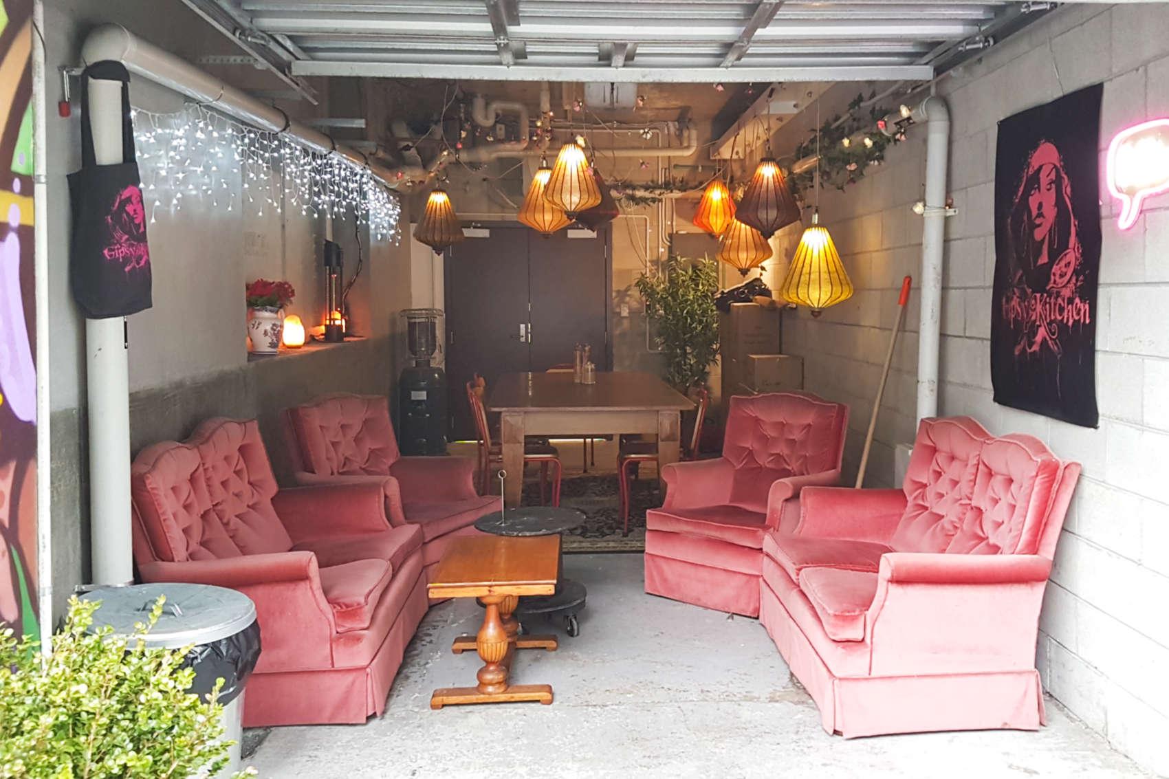 Gypsy Kitchen garage