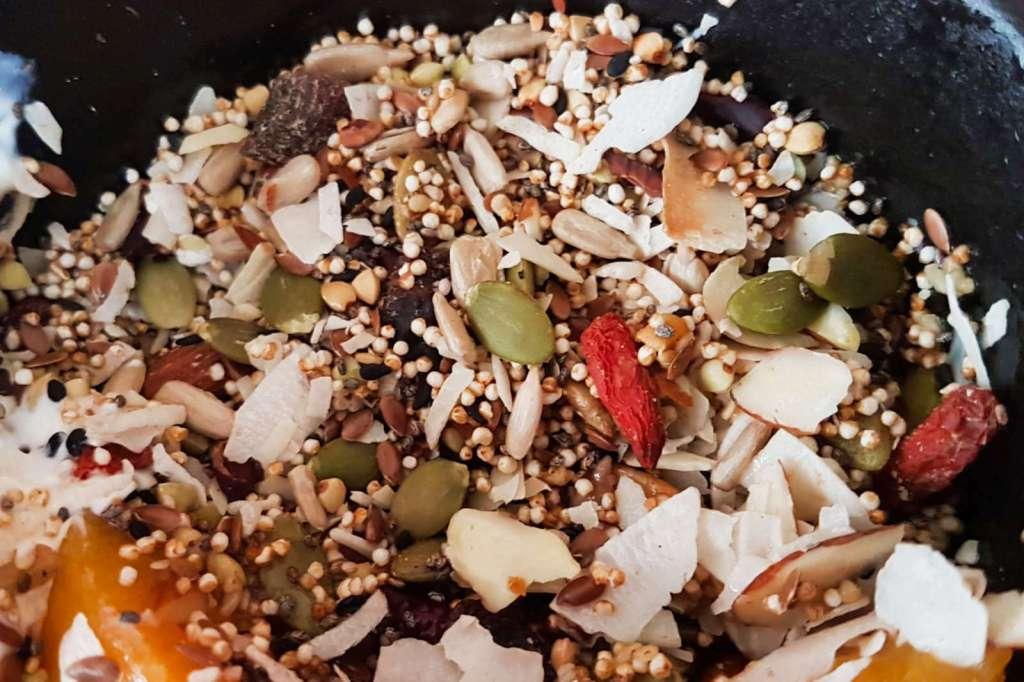 Gypsy Kitchen muesli detail
