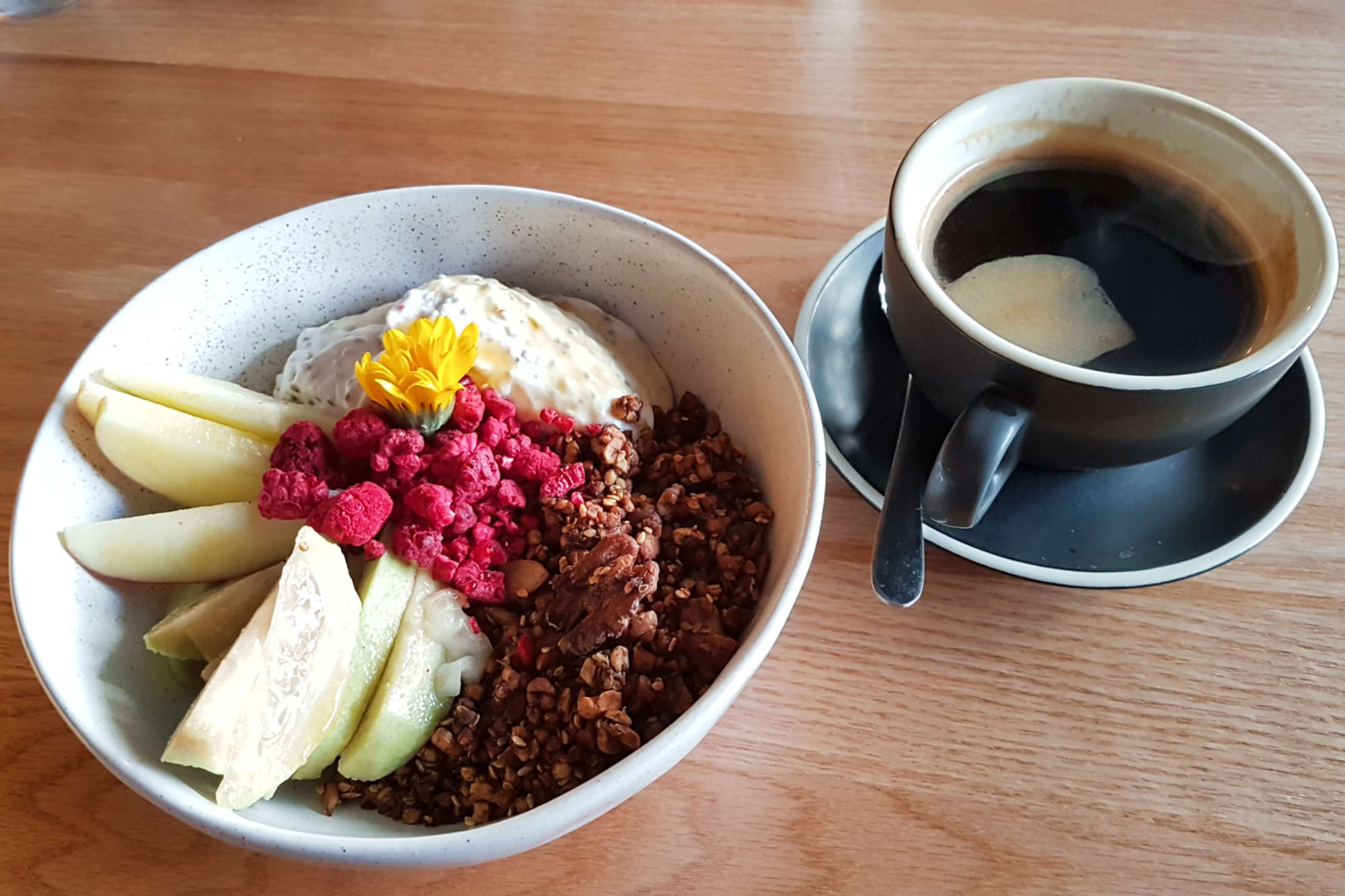 Nolita - granola and coffee