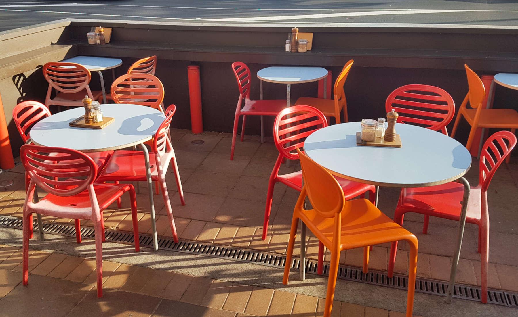 Beach Babylon exterior chairs