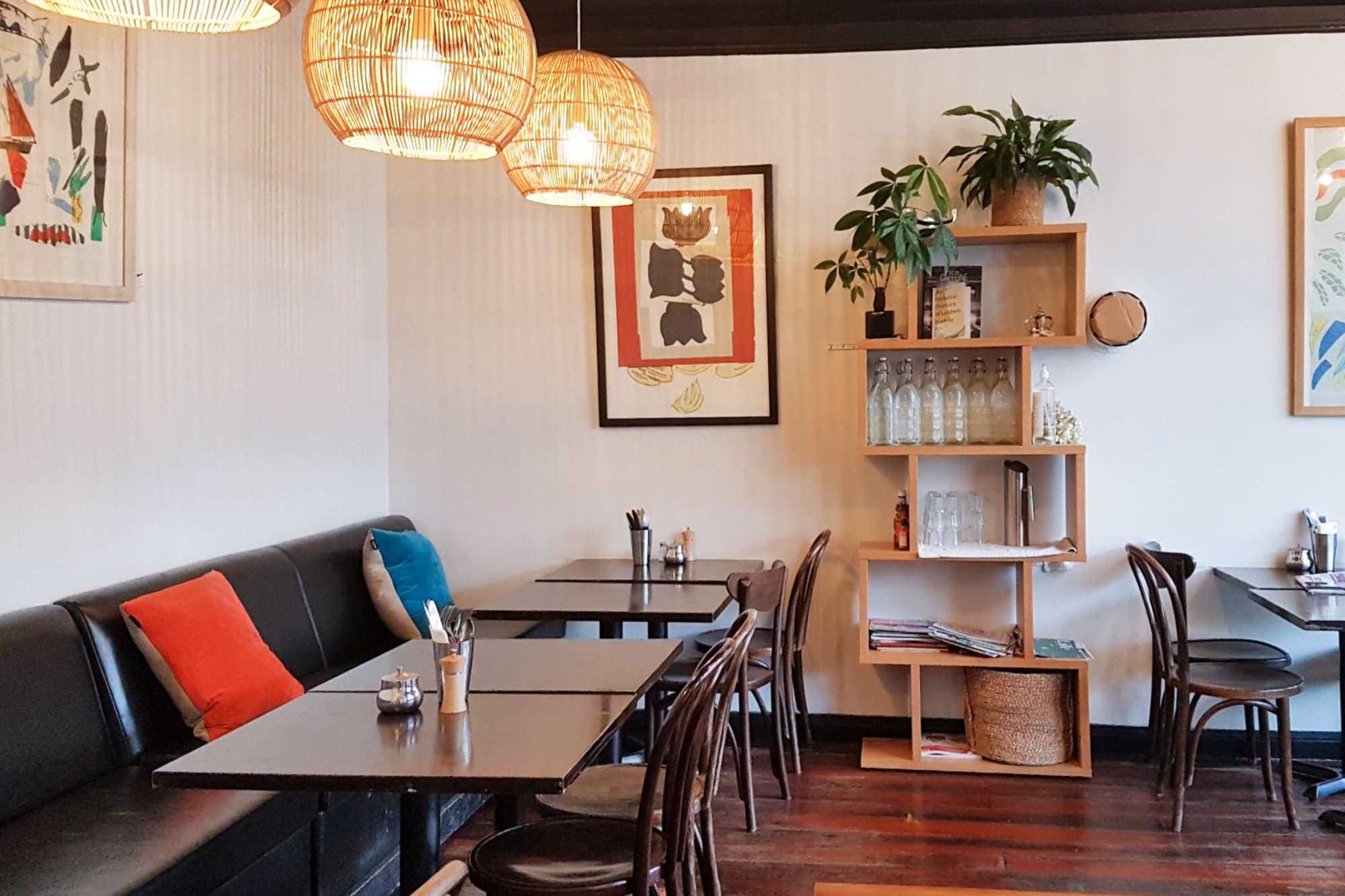 Aro Cafe - front room back