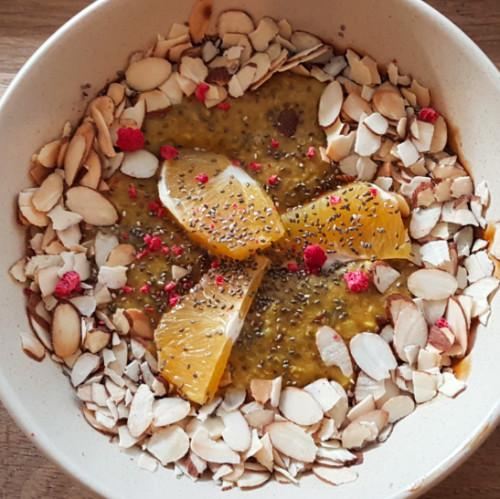 Neo - chai porridge square image