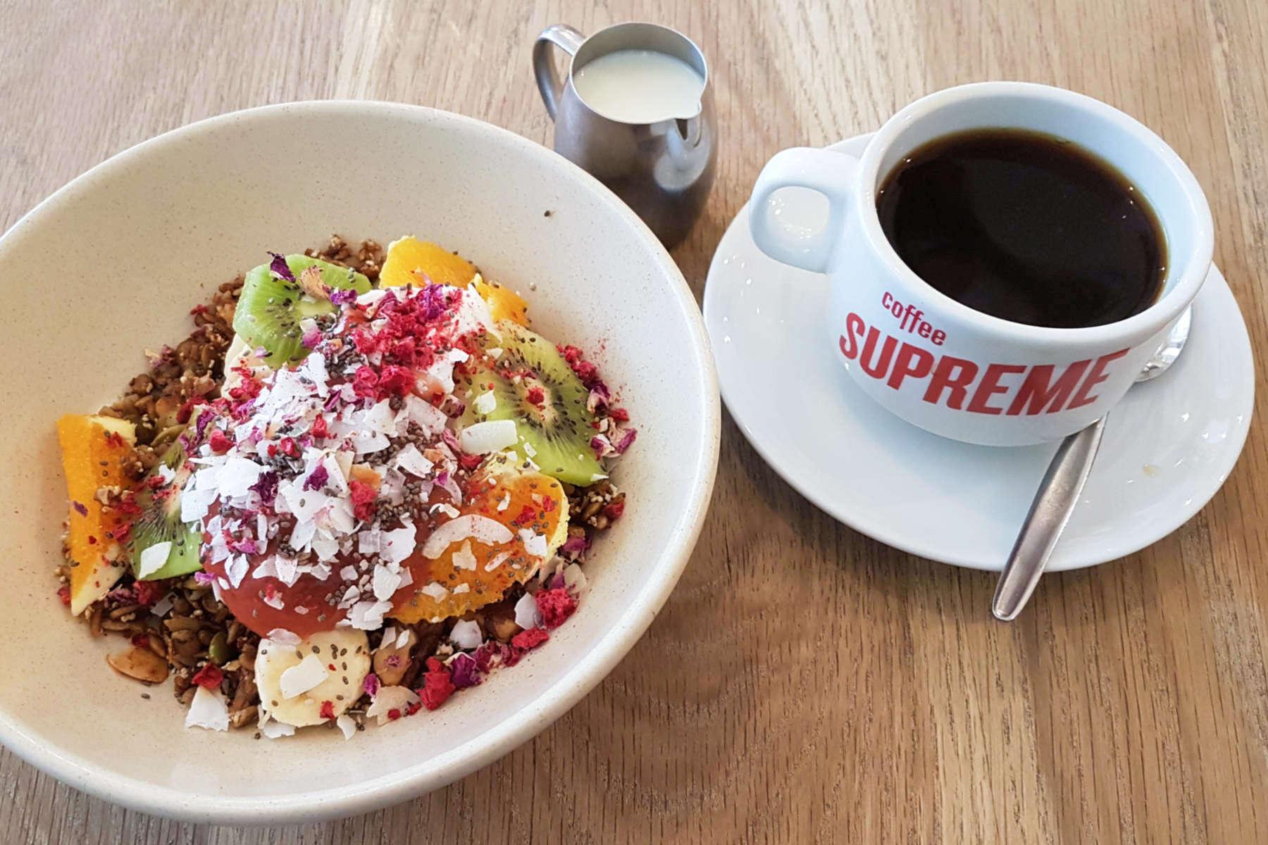 Neo - granola and coffee