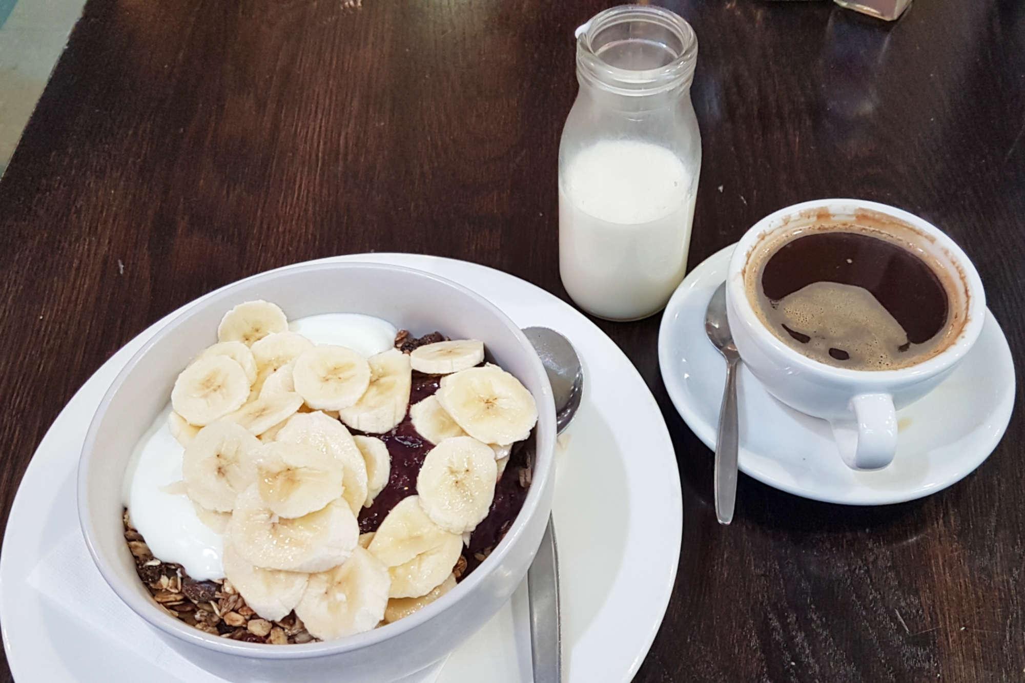 Thunderbird - muesli and coffee